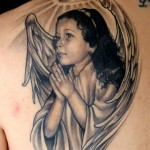 Angel-tattoo-child