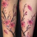 cherry-blossom-thigh-tattoos