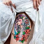exotic-thigh-tattoos-for-women