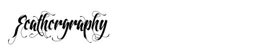 feathergraphy-tattoo-font