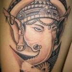 ganesha-on-thigh-inspiring-design-tattoos-ideas