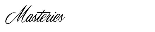 masterics-tattoo-font