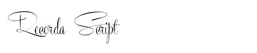 recorda-script-tattoo
