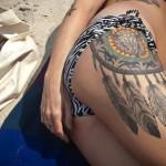 sexy_dreamcatcher_thigh_tattoo