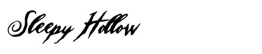 sleepy-hollow-tattoo-font