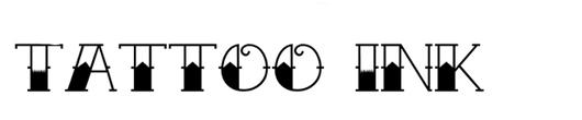 tattoo-ink-font