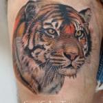 tiger_face_tattoo_on_upper_thigh