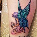 Angel Butterfly Tattoos