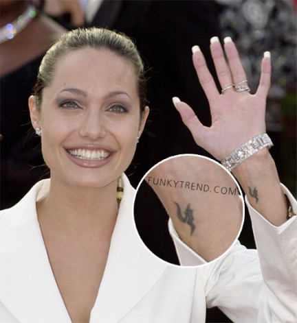 Angelina-Jolie-Wrist-Tattoo | - 39.2KB