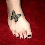 Beautiful Butterfly Tattoos For Women