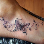 Butterfly-Tattoos-Ankle