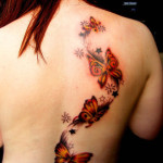 Butterfly-Tattoos-on-Back
