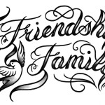 Calligraphy-lettering-tattoo-friendship-family