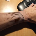Cool-Half-Tone-Wrist-Tattoo