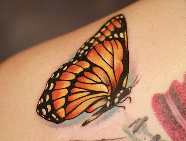 Monarch Butterfly Tattoo Designs Tattoo Love