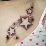 Star-Tattoo-on-Women-Chest