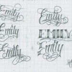 Tattoo-Lettering_34_Emily_by_12KathyLees12