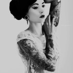 Tattoos-women-geisha