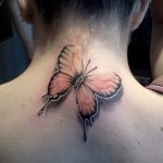 Wonderful Butterfly Tattoo for beautiful girls