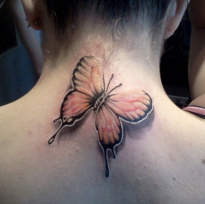 The girl with the butterfly tattoo — photo 12
