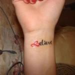 Wrist-Tattoo-for-Women-believe
