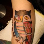 abstract-owl-tattoos