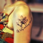 arm-tattoos-for-women-flower-tattoo-lily