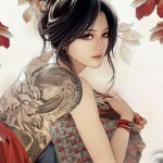 back-tattoos-on-women-dragon-tattoo-anime