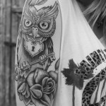 beautiful-owl-tattoo
