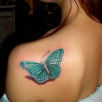 butterfly tattoos 3d