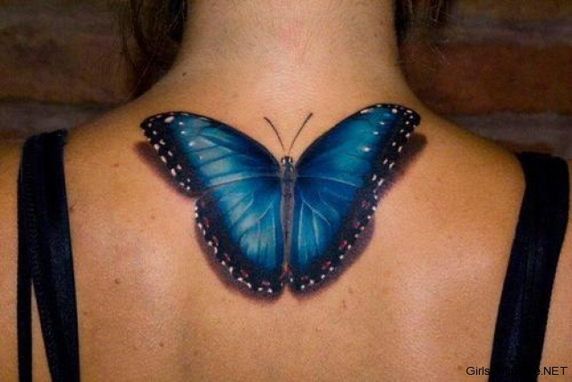 butterfly tattoos realistic tattoo love. Black Bedroom Furniture Sets. Home Design Ideas