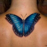 butterfly tattoos realistic