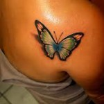 butterfly tattoos small