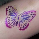 butterfly tattoos stamp
