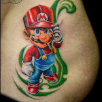 cartoon-tattoo-designs-for-women-mario