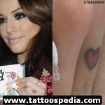 cher lloyd heart tattoo