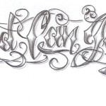 chicano-lettering-god-design-by-2face-tattoo-lettering