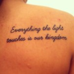 disney tattoos lion king quote
