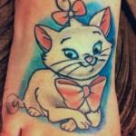 disney tattoos marie aristocats