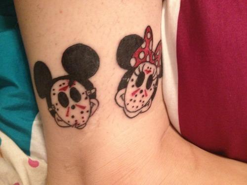 minnie and mickey tattoo minnie and mickey tattoo minnie and mickey    Mickey And Minnie Mouse Matching Tattoos