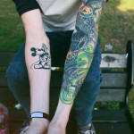 disney tattoos nbc sleeve and mickey mouse absolutes tunning
