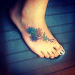 flower tattoo poppies