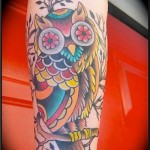 flowers-owl-tattoos
