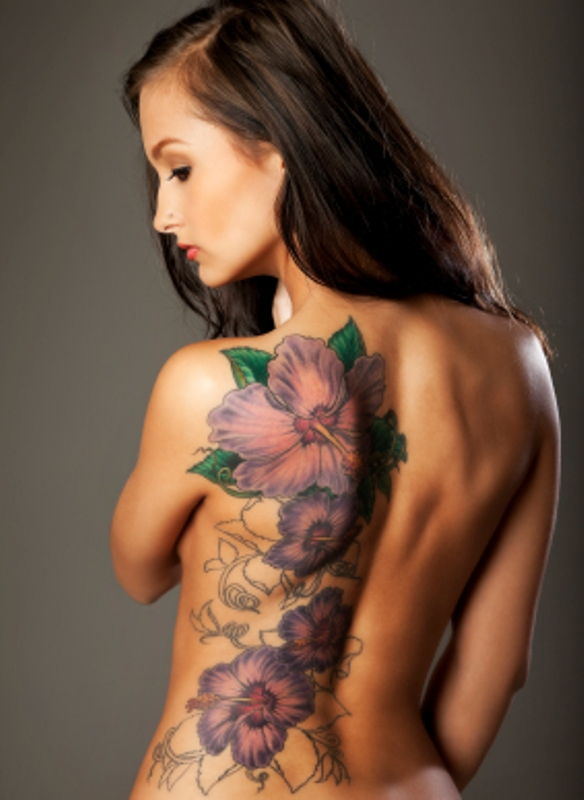 hibiscus flower tattoo designs tattoo love. Black Bedroom Furniture Sets. Home Design Ideas