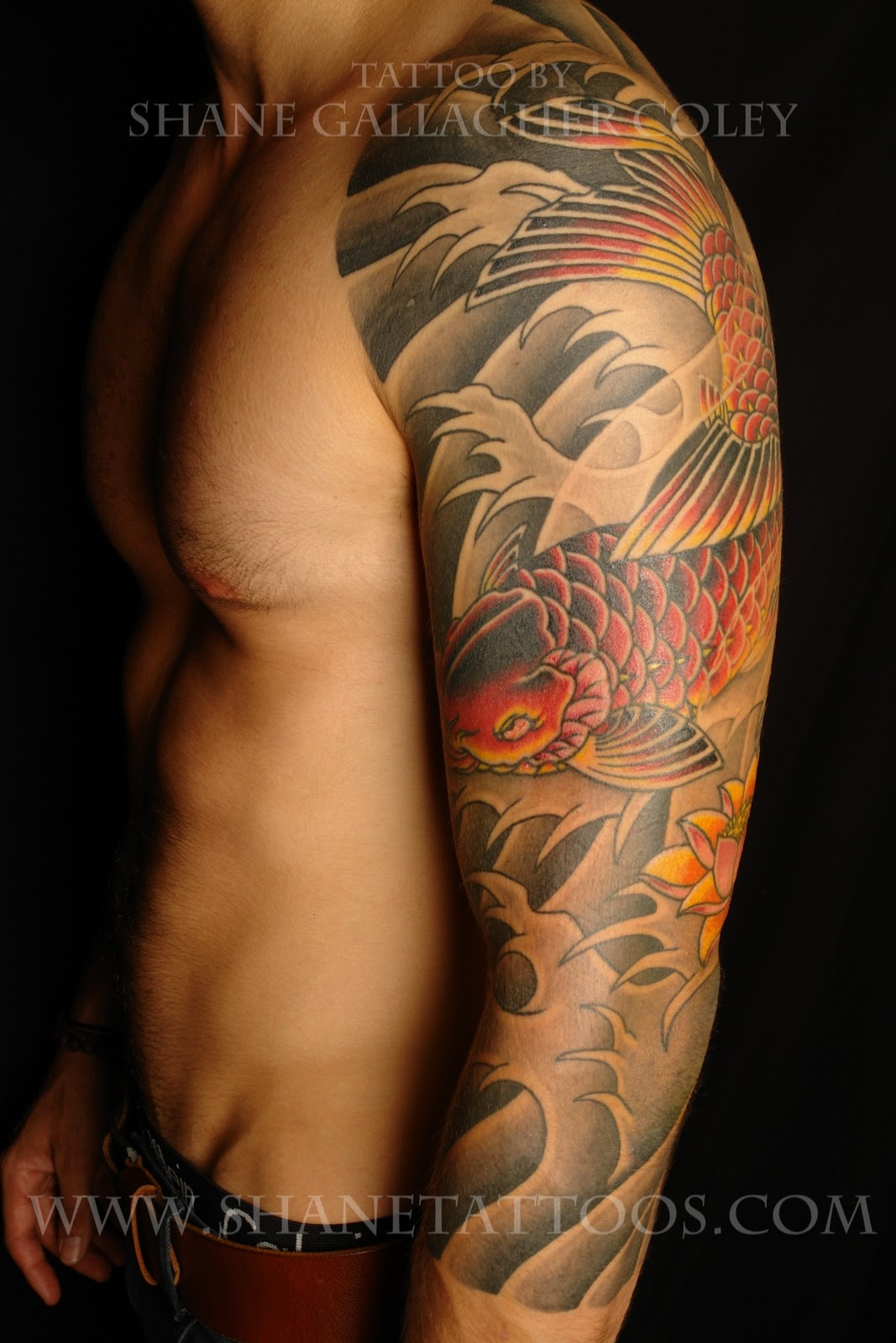 japanese samurai sleeve tattoo designs
