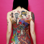 japanese tattoos color