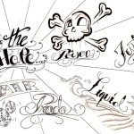 lettering tattoo designs