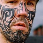 maori-face-ink