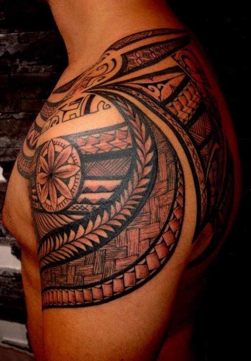 maori samoa shoulder tattoo tattoo love. Black Bedroom Furniture Sets. Home Design Ideas