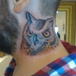 neck-owl-tattoos